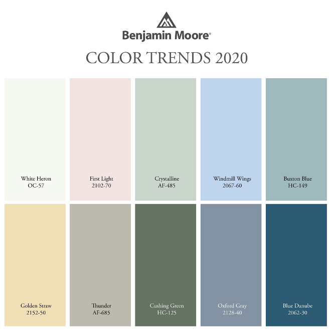 New Paint Colors for 2020